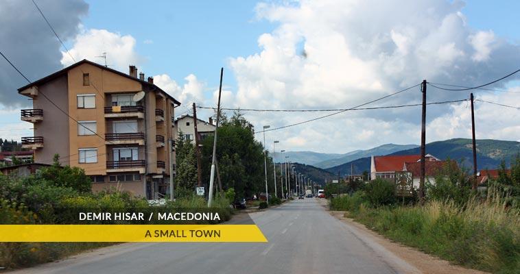 Demir Hisar main street
