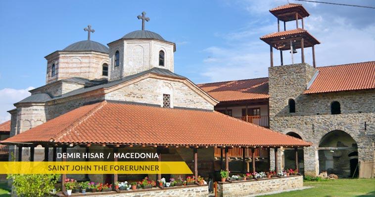 Slepche monastery - Demir Hisar