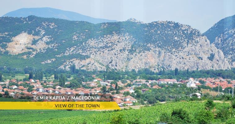 View of Demir Kapija