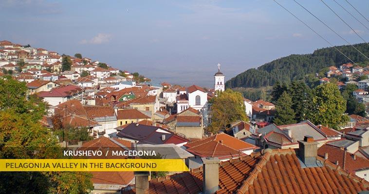 Krushevo panorama