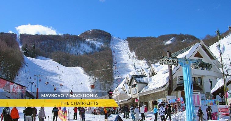 Mavrovo: Zare Lazarevski ski resort