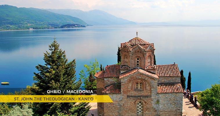 Ohrid: Saint John the Theologican - Kaneo monastery