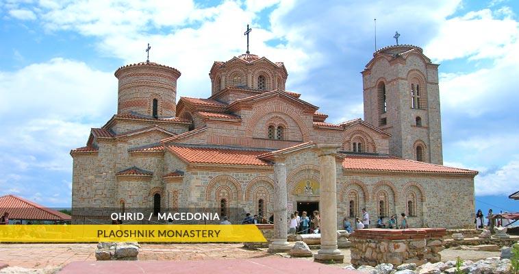 Plaoshnik monastery - Ohrid