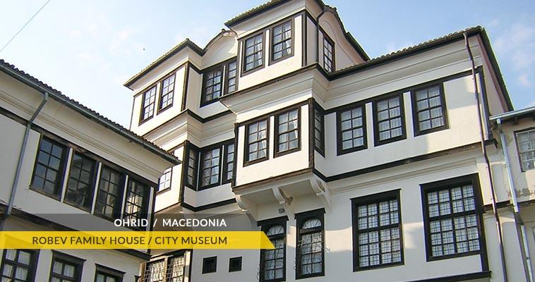 City museum Ohrid - House of Robev family