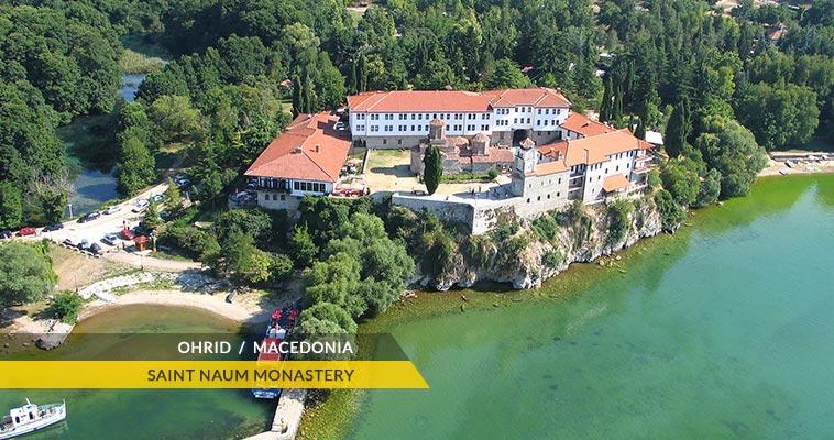 Saint Naum monastery - Ohrid