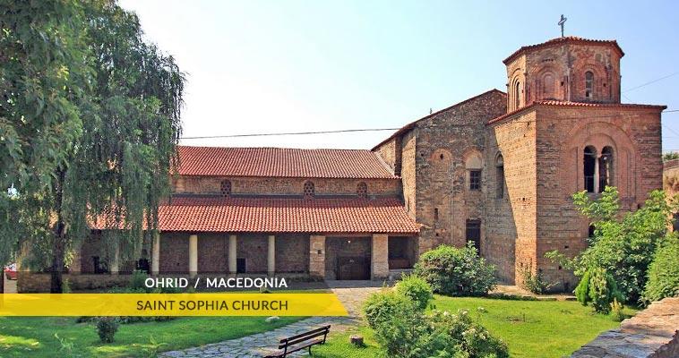 Saint Sophia cathedral church - Ohrid