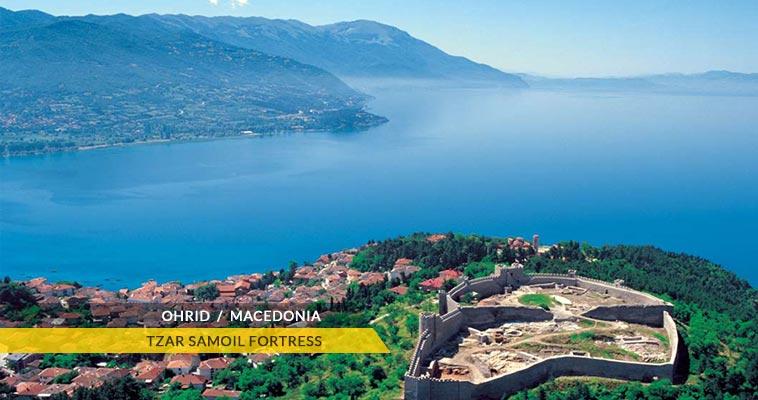 Tzar Samoil's fortress - Ohrid