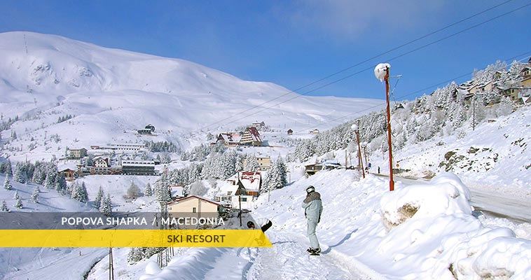 Popova Shapka: ski resort