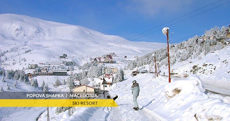 Popova Shapka: ski resort