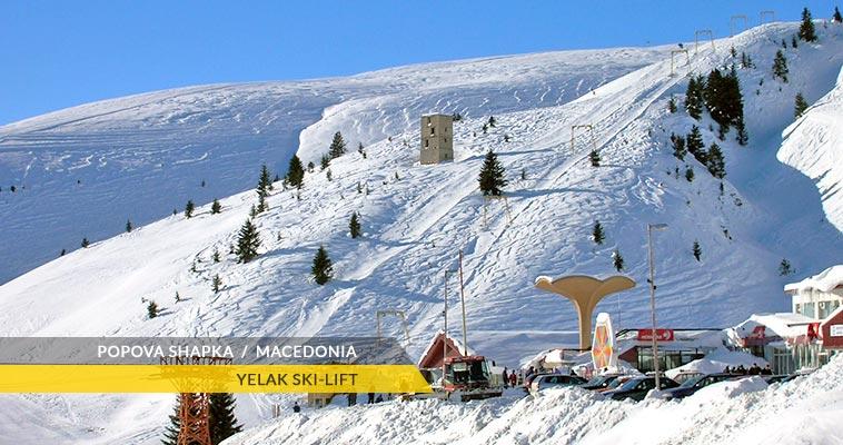 Popova Shapka: Yelak ski-lift