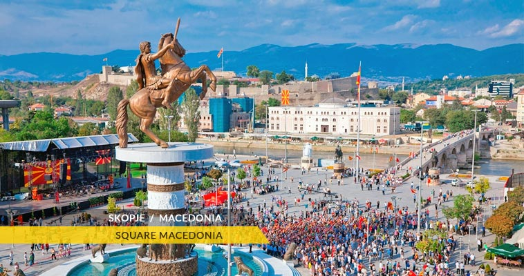 Macedonia's most popular destinations with tourist attractions