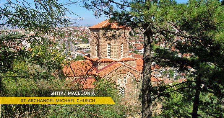 Shtip: Saint Archangel Michael monastery