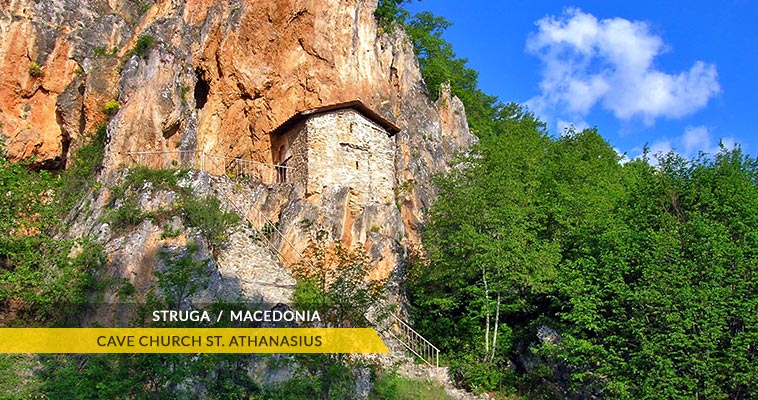 Struga: cave church St. Athanasiues, Elen Kamen