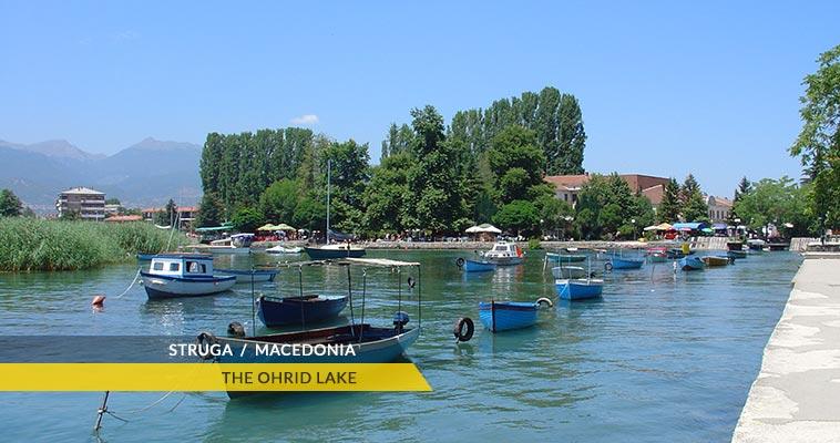 Struga: Ohrid lake
