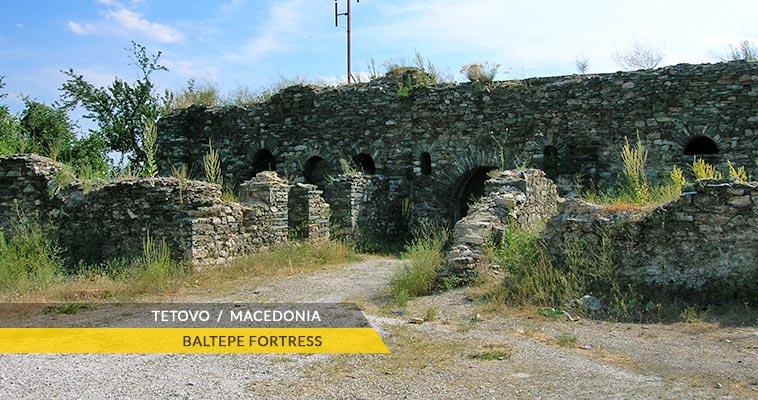 Tetovo: Baltepe fortress