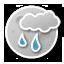 Kicevo - light rain