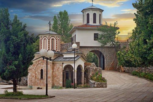 Saint Atanasius cave monastery, Kalista Struga