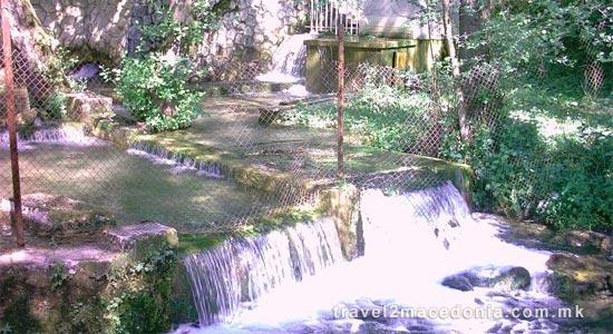 Vrutok gorge of Vardar river - Gostivar