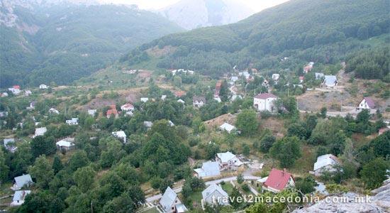 Gorna Belica village - Struga