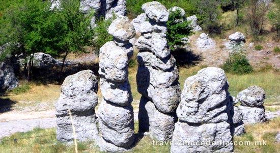 Stone Columns of Kuklica
