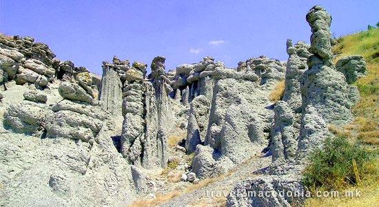 Stone Columns of Kuklica - Kratovo