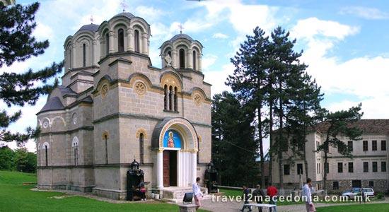 Lesok monastery - Tetovo