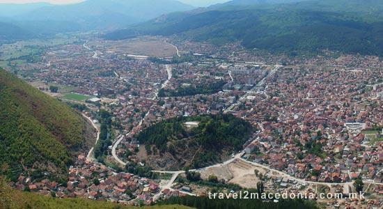 Kitino Kale fortress - Kicevo
