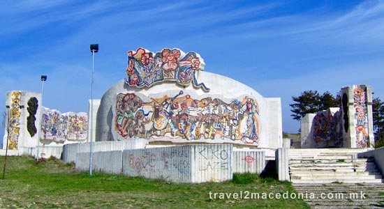 Freedom memorial - Kocani