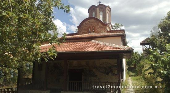 Konce monastery - Radovis