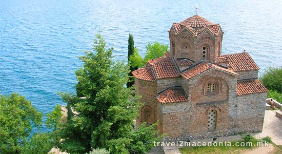 Saint Jovan Kaneo monastery - Ohrid