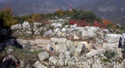 Prosek (Stenae) old town - Demir Kapija