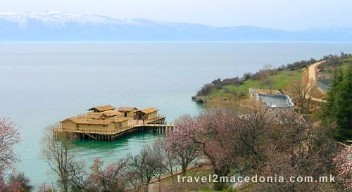 Museum on water -  Bay of Bones - Ohrid
