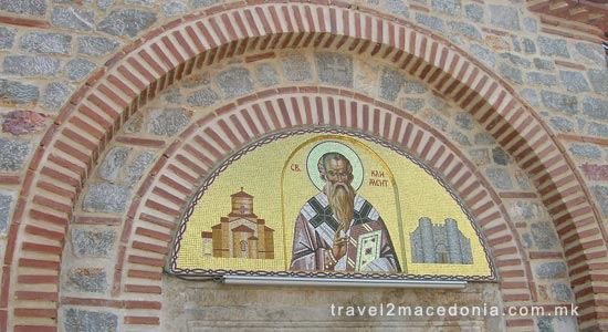 Saint Pantelejmon church - Plaosnik monastery Ohrid