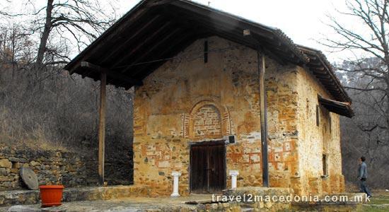 Saint Gjorgi monastery - Resen