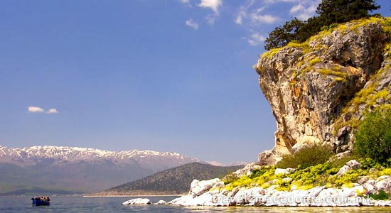 Golem Grad island - Resen