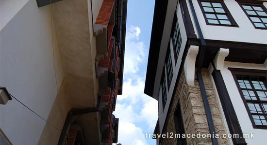 Krusevo old town architecture