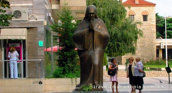 Mother Teresa monument - Skopje