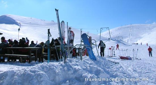 Zare Lazarevski ski resort
