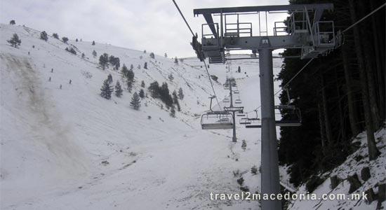 Kozuf ski resort