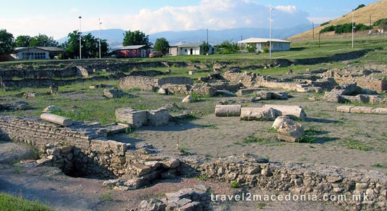 Scupi - ancient town - Skopje