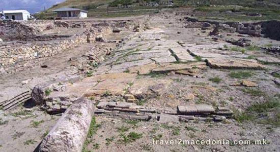 Scupi - ancient town