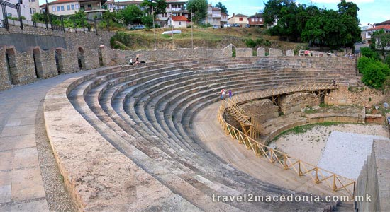 Ancient Theatre - Ohrid