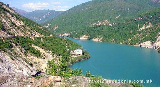 Shpilje lake - Debar lake - Debar