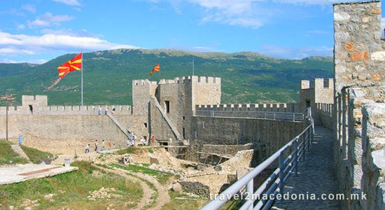 Samoil fortress Ohrid