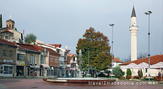 Ohrid bazaar