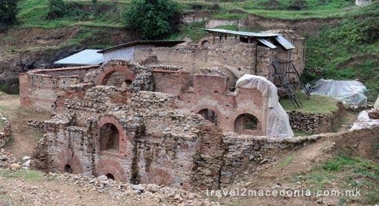 Banjsko Roman bath - Strumica