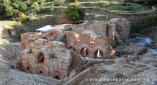 Banjsko Roman bath