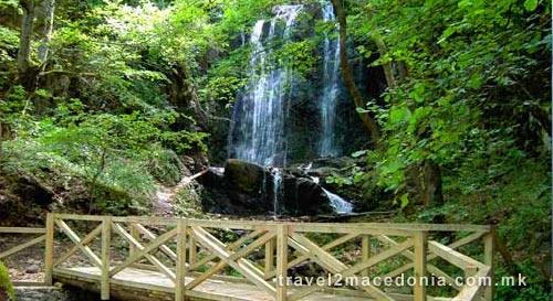Kolesino waterfall - Strumica