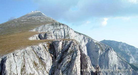 Solunska Glava peak - Veles
