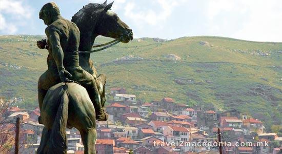 Ilinden rebels monument - Veles